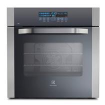Forno Elétrico de Embutir Electrolux Blue Touch 80 Litros Vidro Inox 220v -