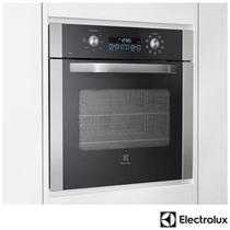 Forno Elétrico de Embutir Electrolux com 80 Litros de Capacidade, Grill e Painel Blue Touch Inox - OE8DX -
