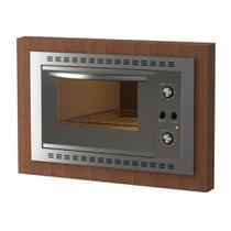 Forno Elétrico de Embutir Fogatti F450 Espelhado 45L 220V 10052111 -