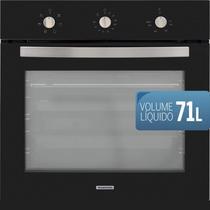 Forno eletrico de embutir tramontina new glass cook b 60 f5+ 220v -