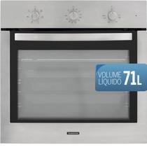 Forno eletrico de embutir tramontina new inox cook 60 f7 220v -