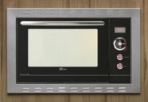 Forno embutir fischer new gratinatto 44l inox  127v -