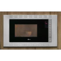 Forno Micro-ondas 25l Fischer Embutir Fit Line Inox - 5 Níveis de Potência 220V -
