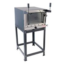 Forno Pizza Industrial 75x45 a Gás Pedra - MR FOGÕES - Mr Fogoes