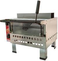 Forno Pizza Industrial A Gás Pedra Reflatária 44x49 Com Infravermelho Gastromixx -