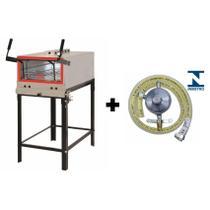 Forno Refratário Industrial Progás PRPI-800 Completo Kit Gás -