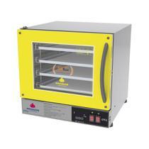 Forno Turbo Elétrico Fast Oven Prp-004 Plus Amarelo - Progas Digital 127V -