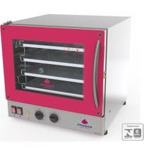 Forno turbo elétrico prp-004 g2 vermelho 220v 50-60hz progás -