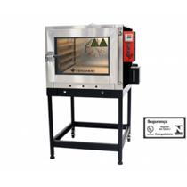 Forno turbo gas venancio twister 5 td fvt5d -