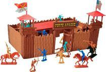 Forte apache super batalha - far west - Gulliver