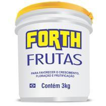 Forth Fertilizante Para Frutas 3 kg - Forth jardim