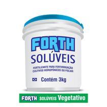 Forth Fertilizante Solúveis Vegetativo 3 kg - Forth jardim