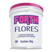 Forth flores 3kg farelado - Forth jardim