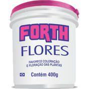 Forth flores 400g farelado - Forth jardim