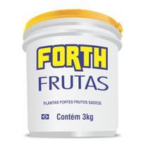 Forth Frutas 3 Kg -