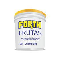 Forth Frutas Fertilizante - NPK 12-05-15 + 9 Nutrientes - 3 kg - 671