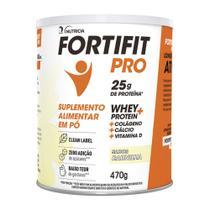 FortiFit PRO Suplemento Alimentar Baunilha 470g -