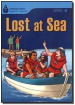 Foundations Reading Library Level 4.4 - Lost At Sea - Cengage -