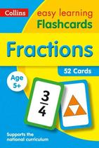 Fractions Flashcard - Collins Easy Learning Ks1 -