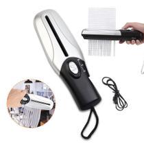 Fragmentadora triturador cortador de papel usb pilhas portatil bivolt - Makeda