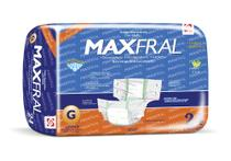 Fralda aldulto geriátrica antivazamento maxfral pacote 8 unidades - Maxfral Gb Higiênicos
