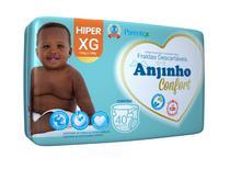 Fralda Anjinho Confort Hiper Tam. XG c/ 40 unidades Parentex -