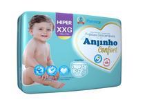 Fralda Anjinho Confort Hiper Tam. XXG c/ 36 unidades Parentex -