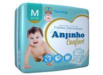 Fralda Anjinho Confort Tam. M c/ 20 unidades Parentex -