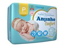 Fralda Anjinho Confort Tam. P c/ 22 unidades Parentex -