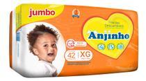 Fralda Anjinho Jumbo Tam. XG c/ 42 unidades Parentex -