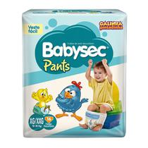 Fralda Babysec Galinha Pintadinha Pants Xg/Xxg 16 Fraldas - Softys