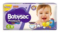 Fralda BabySec GALINHA PINTADINHA Premium - G - 30 unids - Softys