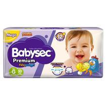 Fralda Babysec Galinha Pintadinha Premium G Com 30 Fraldas - Softys