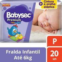 Fralda Babysec Galinha Pintadinha Premium P Com 20 Fraldas -