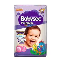 Fralda BabySec GALINHA PINTADINHA Premium - XG - 12 unids - Experimente e se Surpreenda - Softys