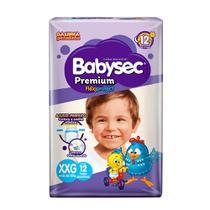 Fralda BabySec GALINHA PINTADINHA Premium - XXG - 12 unids - Softys