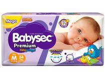 Fralda Babysec Premium Galinha Pintadinha - Tam. M 5 a 9,5kg 34 Unidades