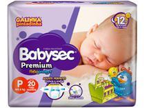 Fralda Babysec Premium Galinha Pintadinha - Tam. P até 6kg 20 Unidades