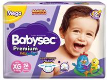 Fralda Babysec Premium Galinha Pintadinha - Tam. XG 11 a 14kg 26 Unidades