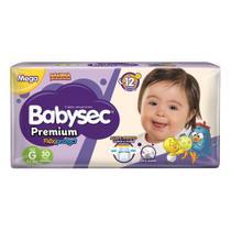 Fralda Babysec Premium Tamanho G Pacote Mega 30 Fraldas Descartáveis -