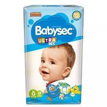 Fralda Babysec Ultra Sec - G - 38 unidades - ECONÔMICO -