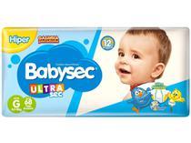 Fralda Babysec Ultrasec Galinha Pintadinha Tam. G - 8,5 a 12kg 68 Unidades