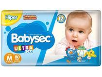 Fralda Babysec Ultrasec Galinha Pintadinha Tam. M - 5 a 9,5kg 80 Unidades - Baby Sec