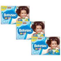 Fralda Babysec UltraSec Galinha Pintadinha XXG - Kit com 90 Unidades - Baby Sec