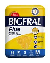 Fralda Bigfral Plus Tamanho M -