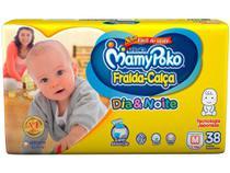 Fralda-Calça Infantil MamyPoko Dia  Noite NOVA - M com 38 unid. -