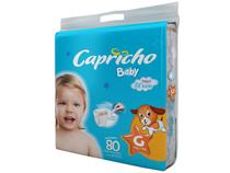 FRALDA CAPRICHO BABY G / 80 un -