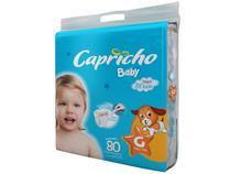 Fralda Capricho Baby Tam. G  - 10 a 13kg 80 Unidades