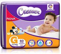 Fralda Cremer Baby Hiper Proteção Até Noite E Dia Tamanho G Com 60 Unidades -