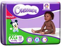 Fralda Cremer Disney Baby Tam. XG - 9 a 13kg 52 Unidades